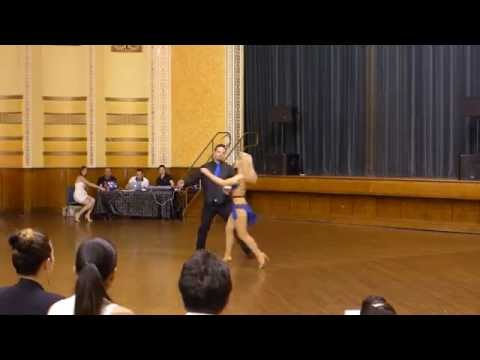 2015 Australian Bachata Championship - Semi-Pro Couple - Richard and Kristy