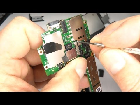 Nokia Lumia 800 Teardown - Disassemble & Reassemble - Battery & Case Replacement