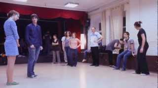 Lindy hop lesson. IA-5. Lock-Turns. THEORY