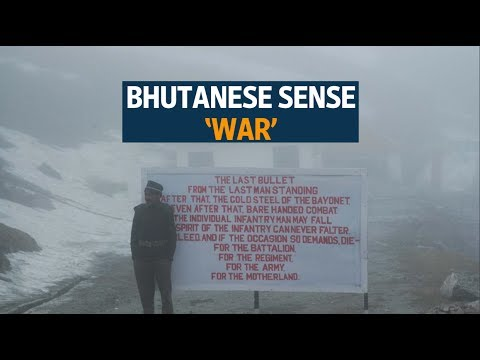 Bhutanese people say China's border action could lead to war