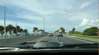 Driving Towards Clearwater Beach FL