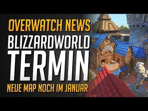 BLIZZARDWORLD TERMIN   Basis Lootbox + Map erscheinen   Druckbares Park Ticket ★ Overwatch Deutsch