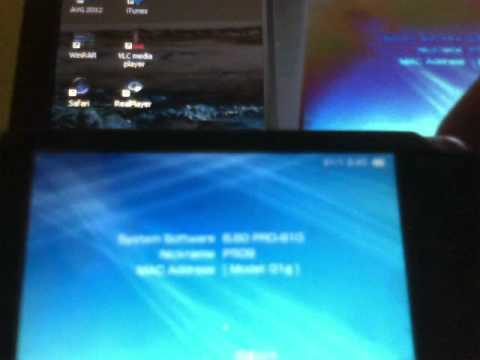 UPDATING PSP 1001 FAT TO CFW  6.60 PRO B 10 FROM OFW 6.60.wmv