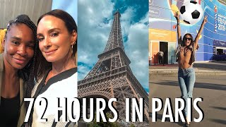 PARIS WITH LUNA BAR // Speaking with Venus Williams & The FIFA Women's World Cup - Catt Sadler