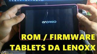 Instalação de Rom/Firmware Tablet Lenoxx TB-7000 (Hard Reset) #UTICell