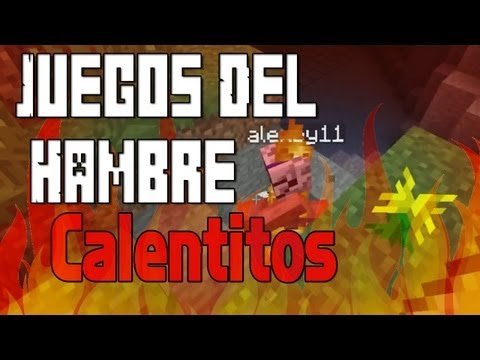 Juegos del Hambre Calentitos!! - Minecraft Juegos del Hambre c/ Sara y Alex