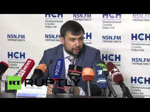"Russia: ""If Russia were involved, Kiev would have already fallen"" Pushilin says"