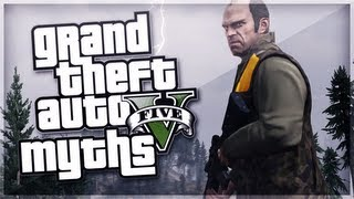 GTA 5 Myths (Scary Ghost, Bonfire Explosion, Flipping Off Police...) [GTA V]
