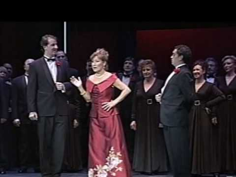 JOSEFINA MENESES canta el Chotis de la Zarzuela LA GRAN VIA