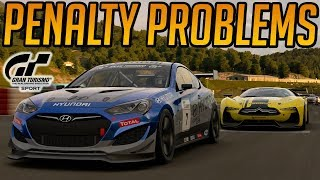 Gran Turismo Sport: Penalty System Problems