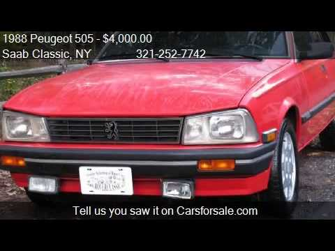 1988 peugeot 505 s for sale in staten island ny 10309 at th   youtube