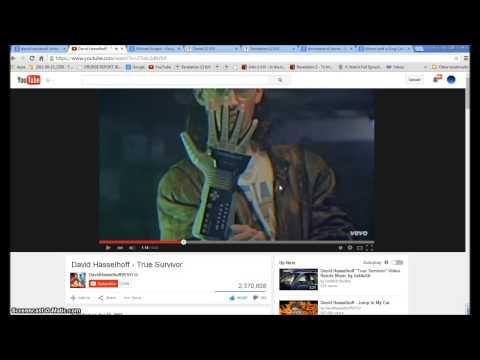 David Hasslehoff True Survivor. Illuminati Freemason Symbolism. video