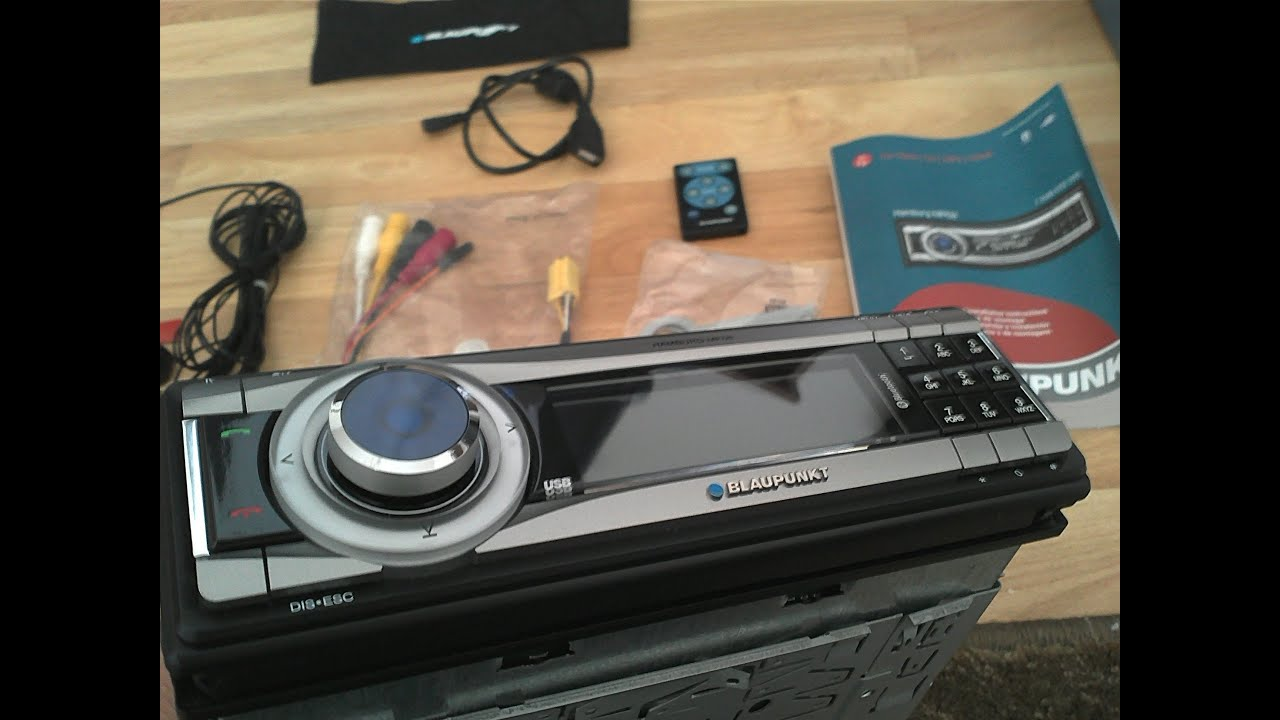 blaupunkt hamburg mp68 car stereo unboxing autoradio. Black Bedroom Furniture Sets. Home Design Ideas