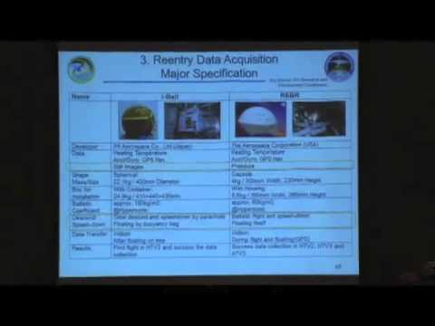 ISSRDC 2013: Keiichi Wada, Evaluation Results of HTV3 Reentry by Using i-Ball/REBR Data