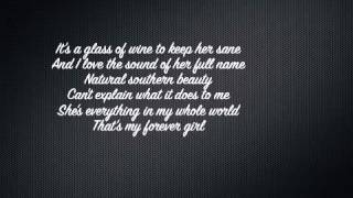Jon Langston - Forever Girl (Lyric Video)