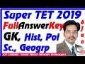 Lagu UP Super TET 6 Jan 2019 GK Gk Political Geography Sahayak Adhyapak Answer Key UP Assistant Teacher