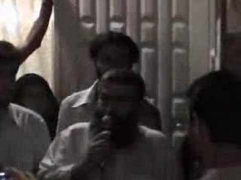 Ayatollah Boroujerdi Protesting Islamic Republic