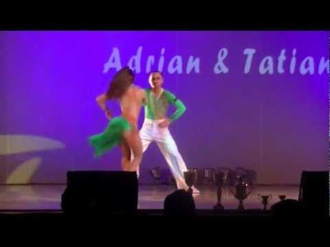 Balkan Salsa Open 2012 - Adrian & Tatiana.wmv