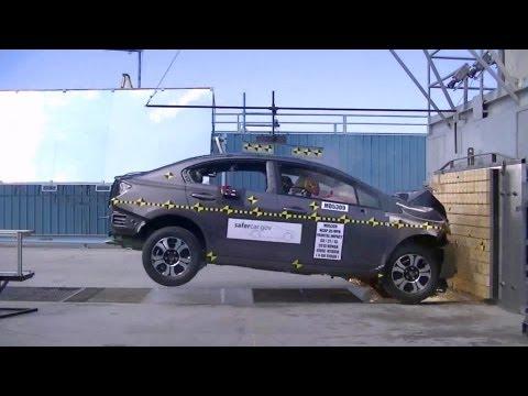 2013 Honda Civic Hybrid Sedan | краш-тест NHTSA