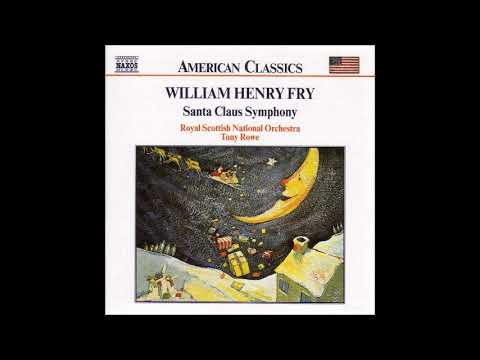 William Henry Fry (1813-64) : Santa Claus, Christmas Symphony (1853)