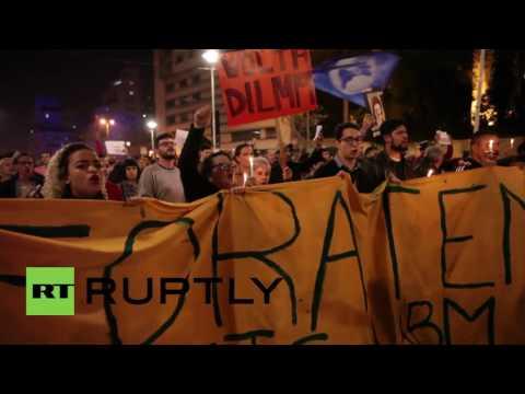 Brazil: Protesters demand Temer's resignation in Sao Paulo