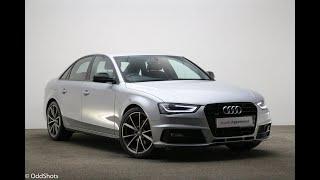 NV16LXM AUDI A4 TDI QUATTRO S LINE BLACK EDITION PLUS SILVER 2016, Reading Audi