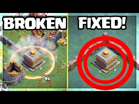 BROKEN - but here's HOW TO FIX The CRUSHER! Clash of Clans Builder Hall Update Idea!