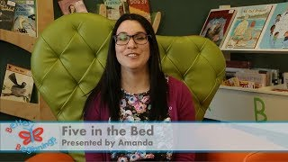Rhyme Time at The Story Place - Five in the Bed