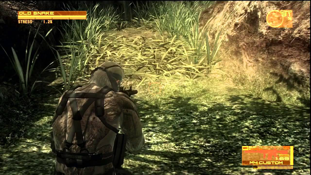 how to run in metal gear solid 4