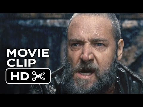 Noah Movie CLIP - The Flood (2014) - Russell Crowe, Anthony Hopkins Movie HD