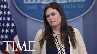 Sarah Huckabee Sanders Named White House Press Secretary Following Sean Spicer