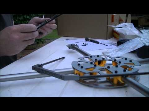 Turnigy HAL quadcopter frame build