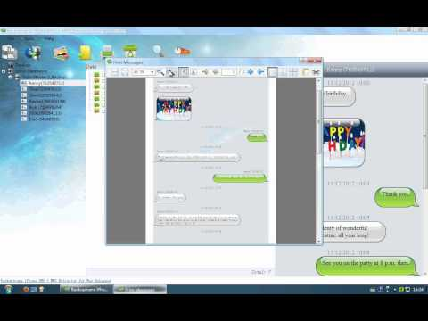 iPhone SMS MMS Printing Tutorial