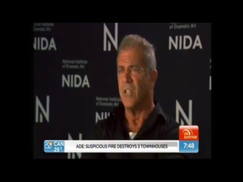 Mel Gibson sunrise interview 7.12.2015