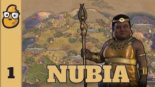Civ 6 Nubia Ep. 1 - Let's Play Civ6 - New Civ Amanitore of Nubia!