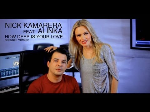 Sonerie telefon » Nick Kamarera feat Alinka – How Deep Is Your Love (acustic)