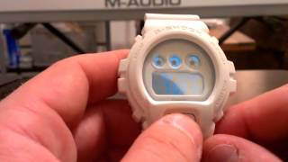 "DW6900WW-7 ""Cocaine"" White - Casio G-Shock Watch Review"