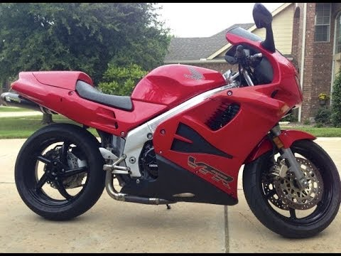 1996 Honda Vfr 750 Restoration Weight Reduction And