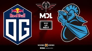 OG vs Newbee Game 1 | MDL Changsha Major | Lower Bracket R2 (Bo3)