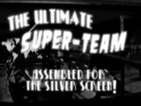 "Retro superhero ""preview"" The Avengers (1951)"