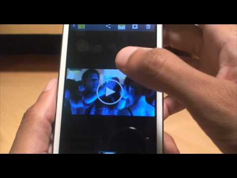How to Move Video Clips / Movies to SD Card on Samsung Galaxy S3 SIII GT-i9300