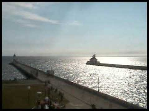 ... over a year's time from the Canal Park web cam in Duluth, Minnesota.