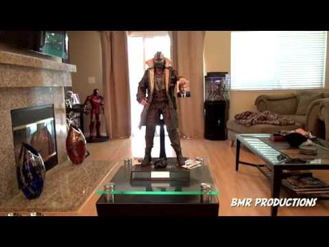 Bane Dark Knight Rises custom setup - Movie scene - Hot toys -