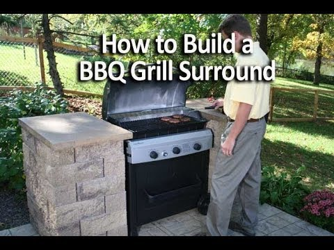 How to Build a Outdoor Grill With Brick How to Build an Outdoor