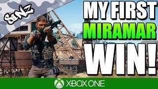 MY FIRST MIRAMAR WIN! - PUBG Xbox | FPP Gameplay