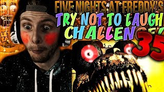 Vapor Reacts #618 | [FNAF SFM] FIVE NIGHTS AT FREDDY'S TRY NOT TO LAUGH CHALLENGE REACTION #35