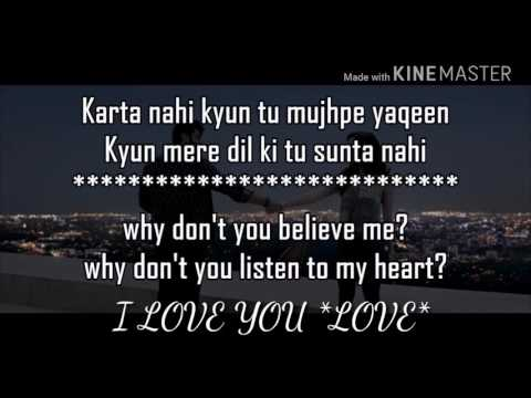 Tu hi tu hai with lyrics half girlfriend