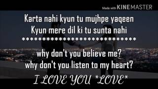download lagu Tu Hi Tu Hai  Lyrics Half Girlfriend gratis