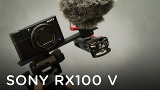 HOW TO GET AUDIO WITH THE SONY RX100 V