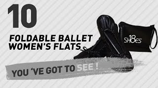Foldable Ballet Women's Flats // New & Popular 2017
